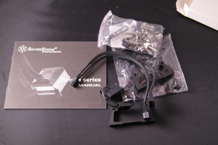 SilverStone SST-TD02-E 付属品ショートパーツ