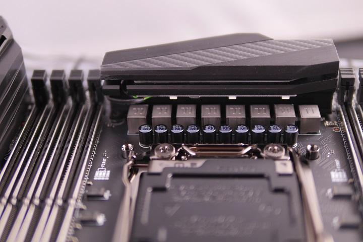 MSI X99A GAMING PRO CARBON電源部分
