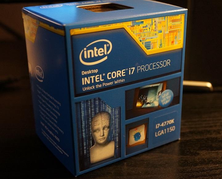 Intel Core i7 4770Kパッケージ