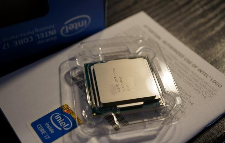 Intel Core i7 4770K開封1