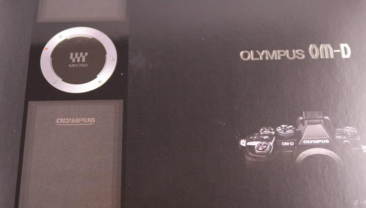 OLYMPUS OM-D E-M1 12-40mm F2.8 レンズキット箱1