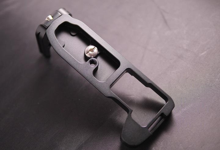 MENGS OM-D E-M1 L字型のクイックリリースプレート3