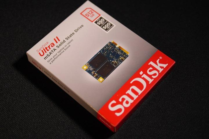 SanDisk UltraII SDMSATA-512G-G25箱