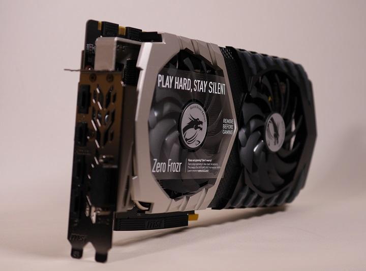 MSI GTX 1070 QuickSilver8G OCその5