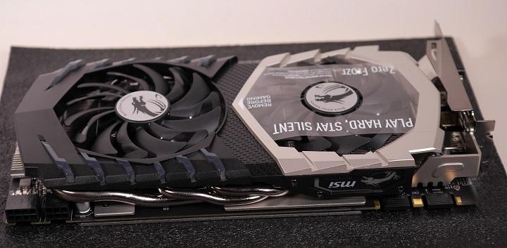 MSI GTX 1070 QuickSilver8G OC開封5