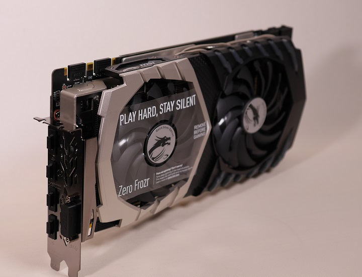 MSI GTX 1070 QuickSilver8G OCその4