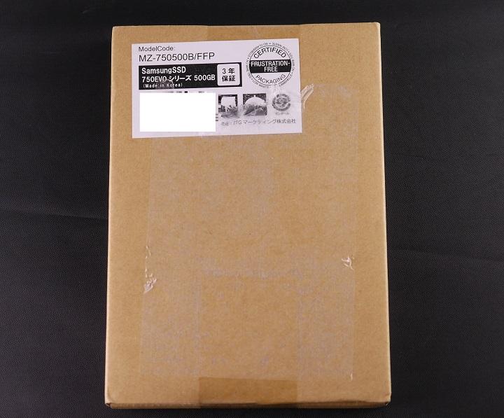SAMSUNG 750 EVO MZ-750 500B/FFP箱