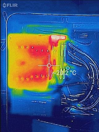 CPUクーラーの温度