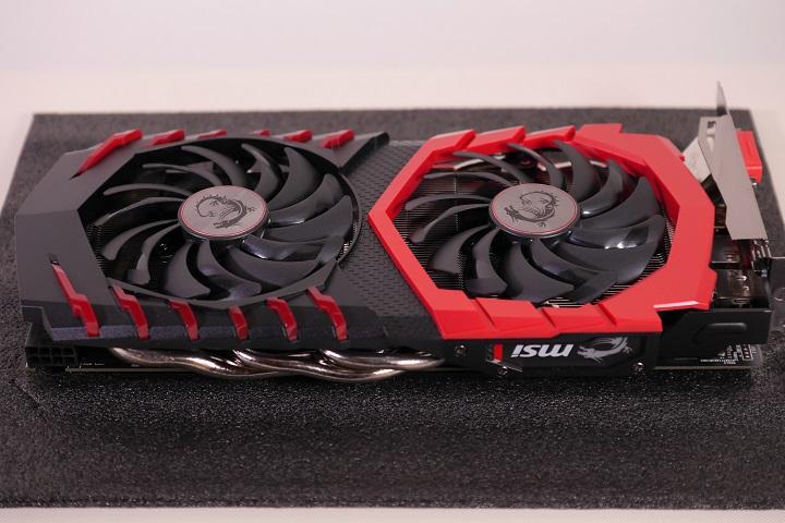 MSI Radeon RX 480 GAMING X 8G本体1