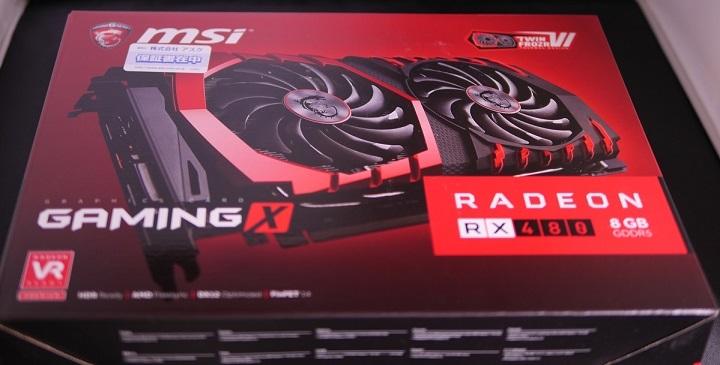 MSI Radeon RX 480 GAMING X 8G箱1