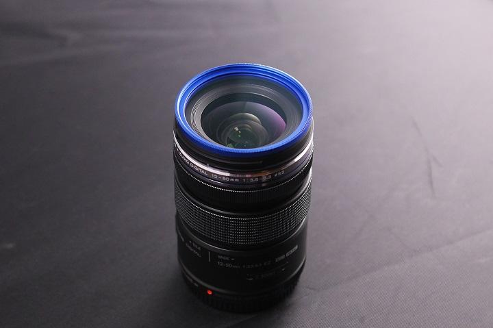 OLYMPUS M.ZUIKO DIGITAL ED 12-50mm F3.5-6.3 EZにレンズフィルター1