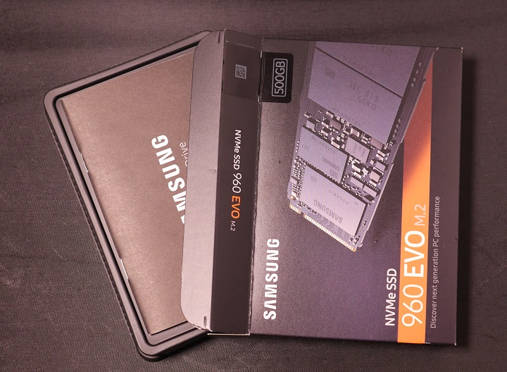 SAMSUNG 960 EVO M.2 MZ-V6E500B/IT開封1