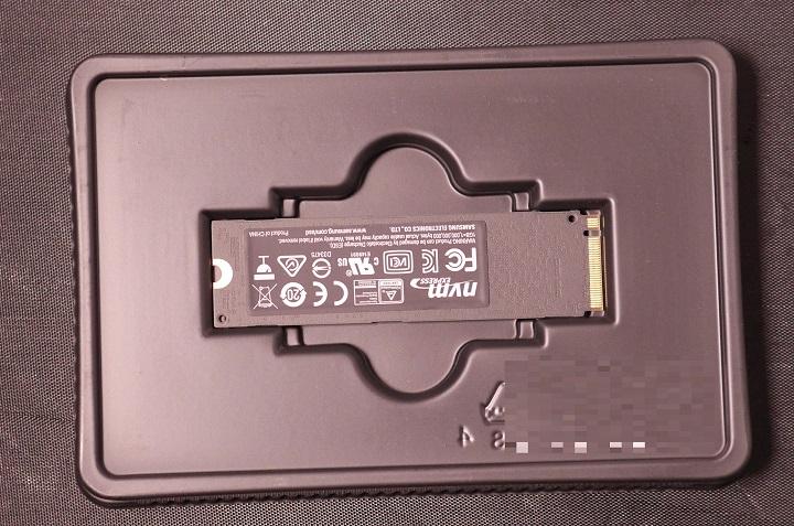 SAMSUNG 960 EVO M.2 MZ-V6E500B/IT開封2