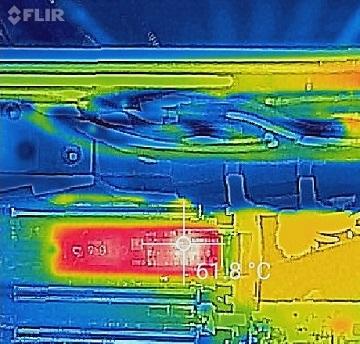 SAMSUNG 960 EVO M.2 MZ-V6E500B/IT温度3