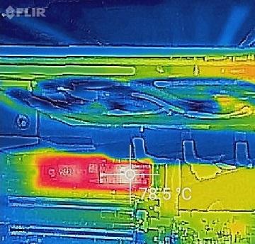 SAMSUNG 960 EVO M.2 MZ-V6E500B/IT温度4