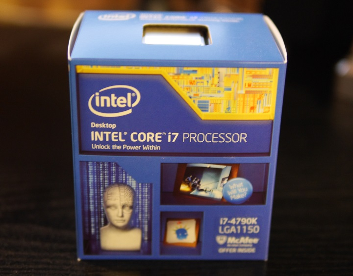 Intel Core i7 4790K箱