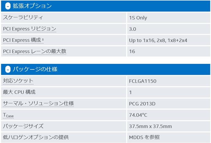 Core i7 4790K仕様3