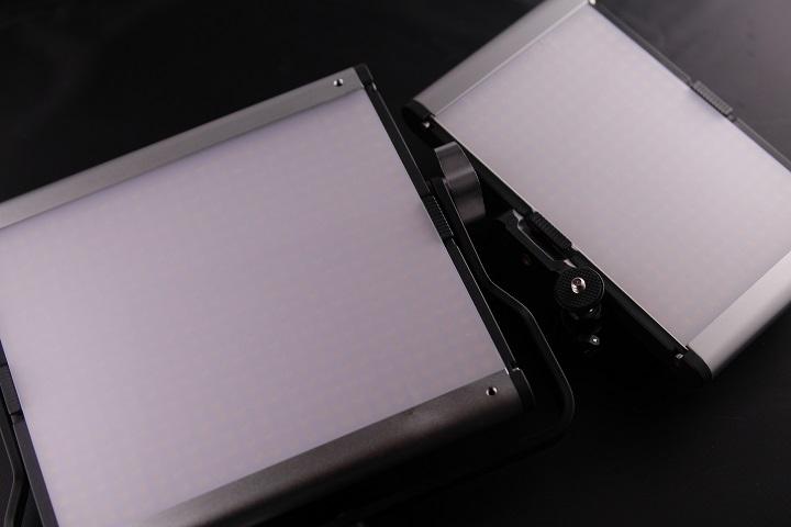 Neewer LEDライト CRI95+比較1