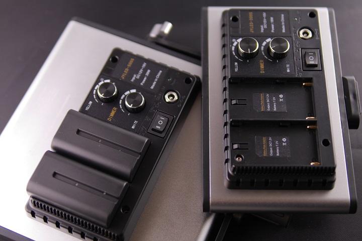 Neewer LEDライト CRI95+比較2