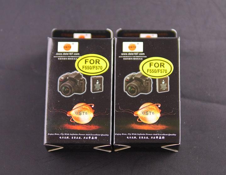 DSTE NP-F330 NP-F530 NP-F550 NP-F570互換 カメラバッテリー箱1