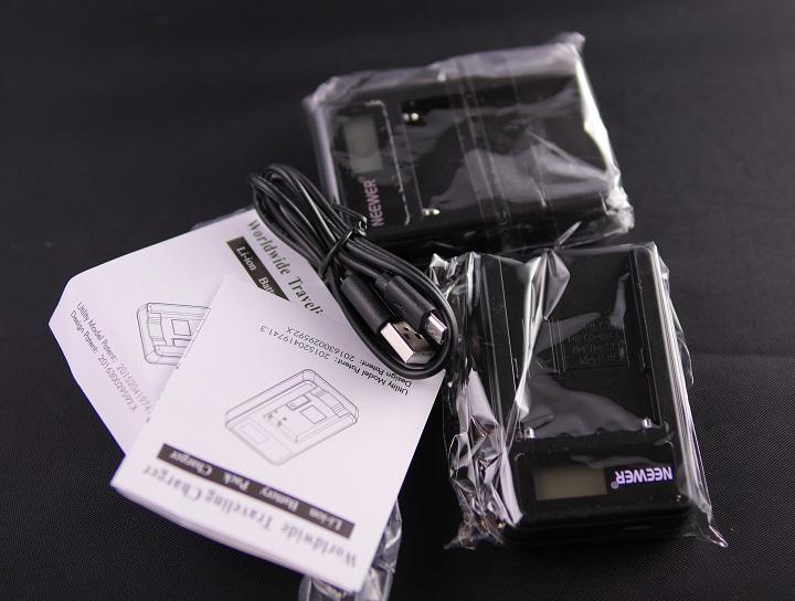 NEEWER Sony NP-F550/F750/F960/F970 マクロUSB電池充電器開封