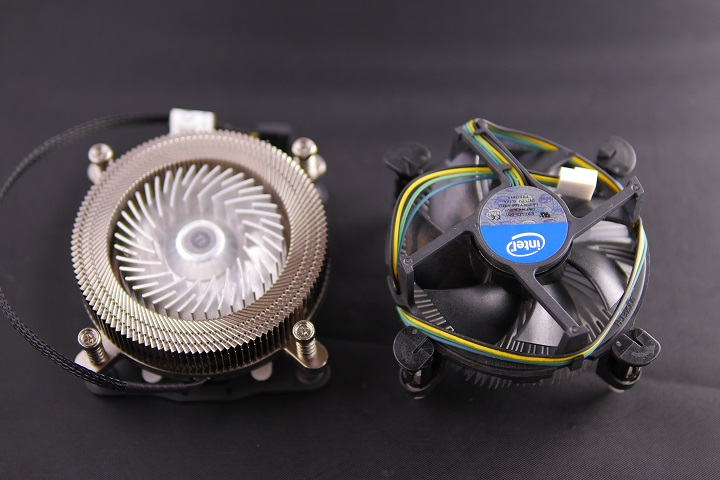 Thermaltake Engine 27とIntel CPUクーラー比較1