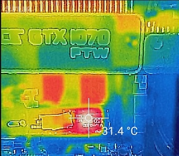 SAMSUNG 950PRO温度1