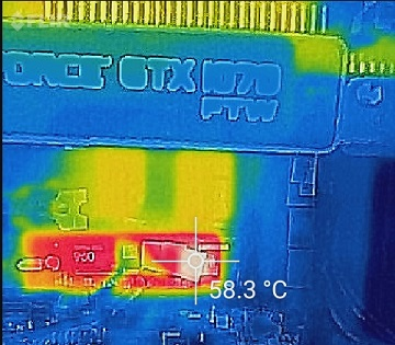 SAMSUNG 960PRO温度4