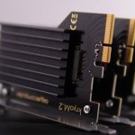 Aqua computer kryoM.2 with passive heatsink