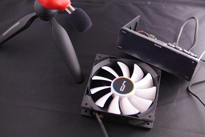 Tacklife SLM01 騒音計で計測イメージ