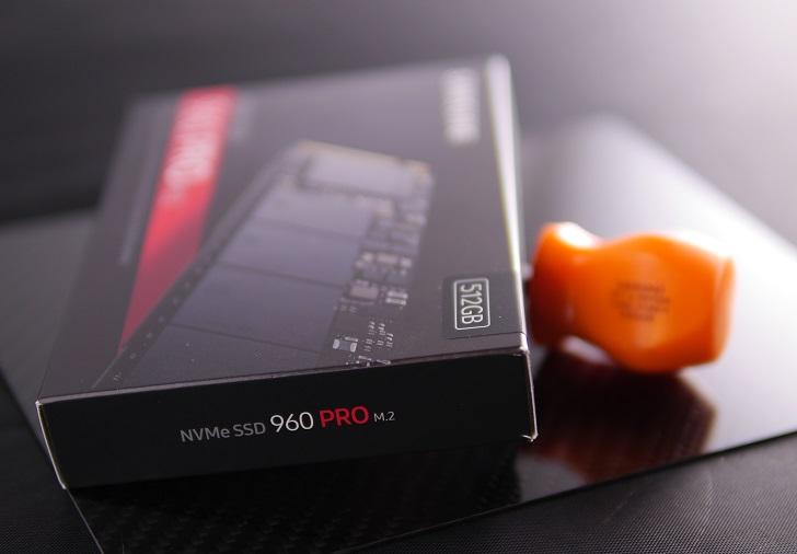 Samsung 960Pro512GBにドライバー
