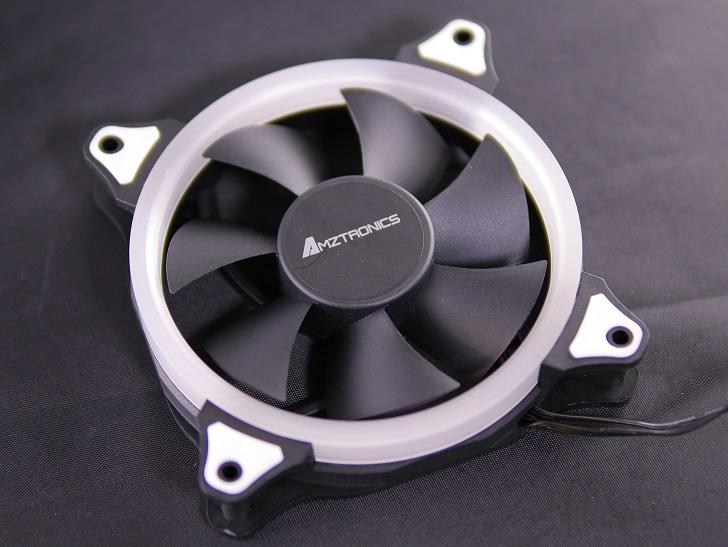AMZtronics 12cm RGBカラー ファン本体2