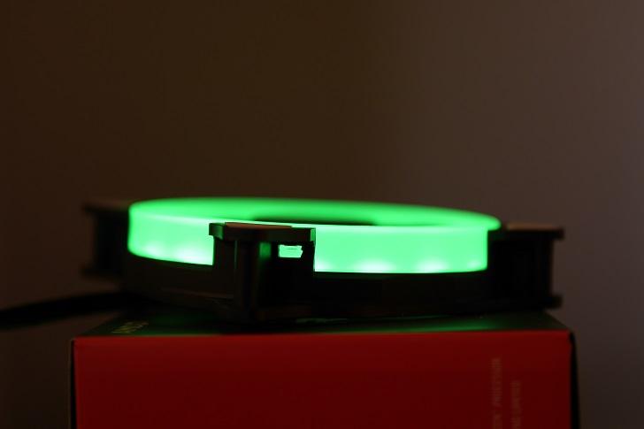 AMZtronics 12cm RGBカラー ファンを光らせる4