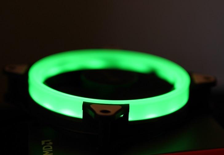 AMZtronics 12cm RGBカラー ファンを光らせる5