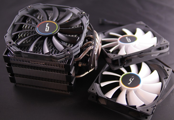 CRYORIG H5 ULTIMATEとQF120 PERFORMANCE