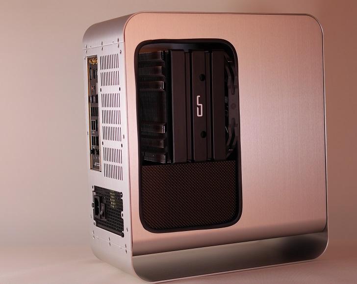 CRYORIG H5 ULTIMATE取り付け状態、PCケース5