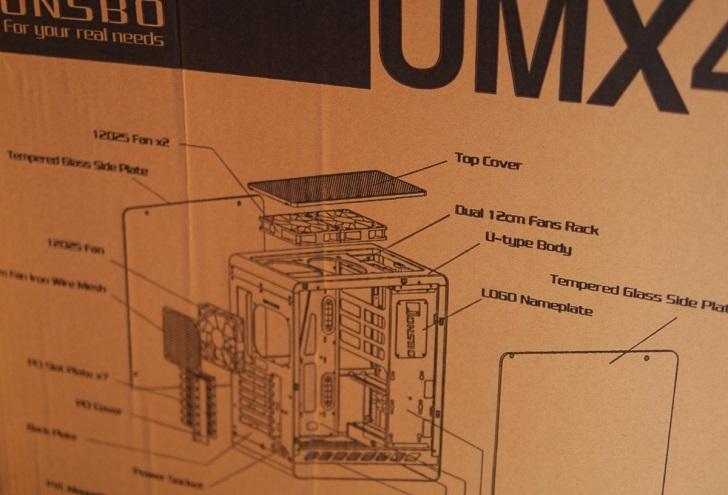 JONSBO UMX4箱