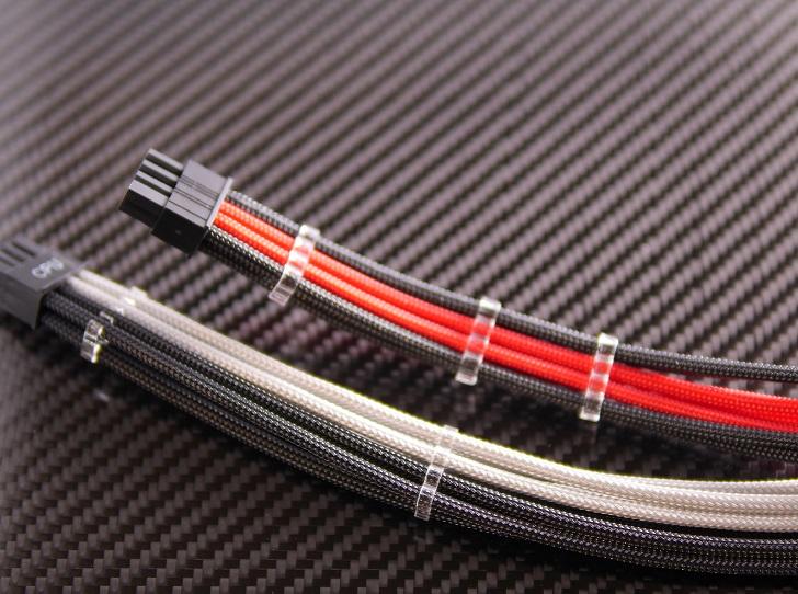 Crystal ICE Cable Combs 8pinとE22スリーブガイド比較