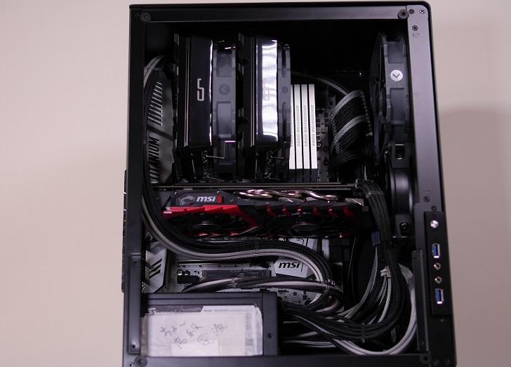 AMD RyZEN7 1700Xを使った黒パソコン、その2