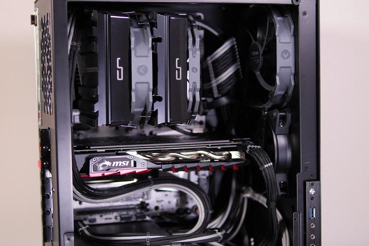 AMD RyZEN7 1700Xを使った黒パソコン、その5