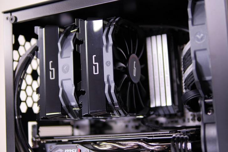 AMD RyZEN7 1700Xを使った黒パソコン、その7
