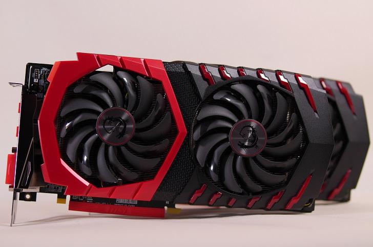 MSI Radeon RX 480 GAMING X 4GとMSI Radeon RX 480 GAMING X 8Gを並べて、その1