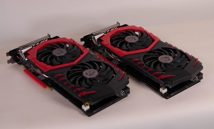 MSI Radeon RX 480 GAMING X 4GとMSI Radeon RX 480 GAMING X 8Gを並べて、その5