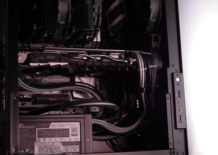 黒パソコンにMSI GTX 1070 Quick Silver 8G OCを取り付け、その1