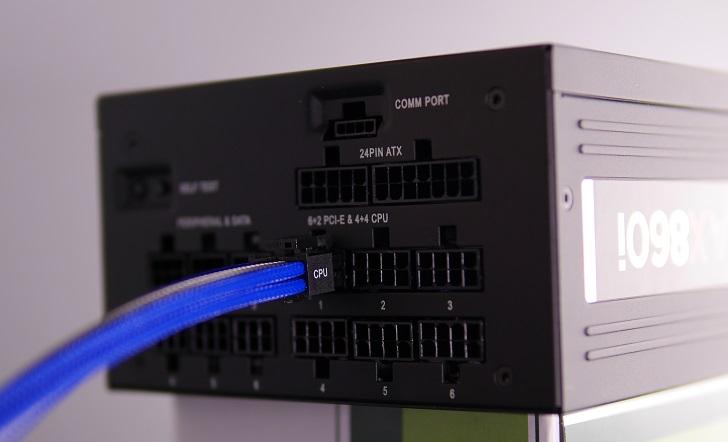 Corsair AX860i内部電源コネクター、その2