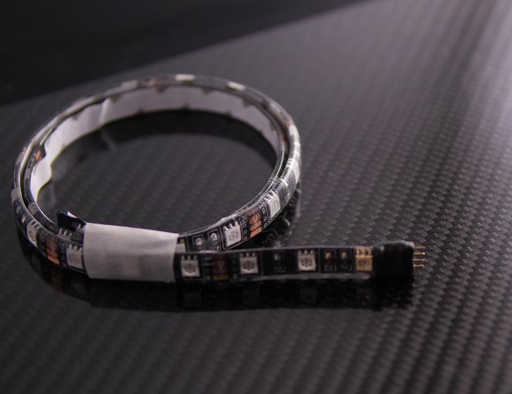 LEDテープの端処理、その1