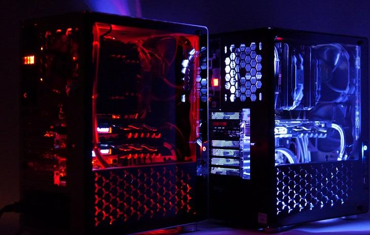 黒パソコン完成!