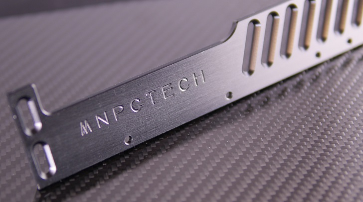 Mnpctech CNC Machined GPU Support ReferenceのMnpctechロゴ