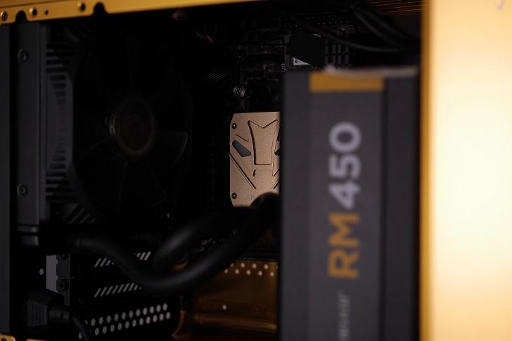 RAIJINTEK METISにABATAP ICE STORM X001を取り付け、その1