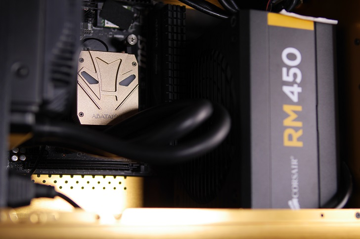 RAIJINTEK METISにABATAP ICE STORM X001を取り付け、その2